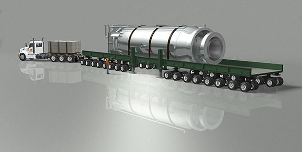 卡车拖着走的小型核电站,会是核工业的未来吗