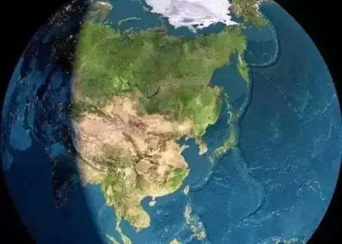 我们截取了google 卫星地图