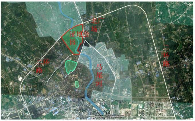 绵竹城东新区规划图