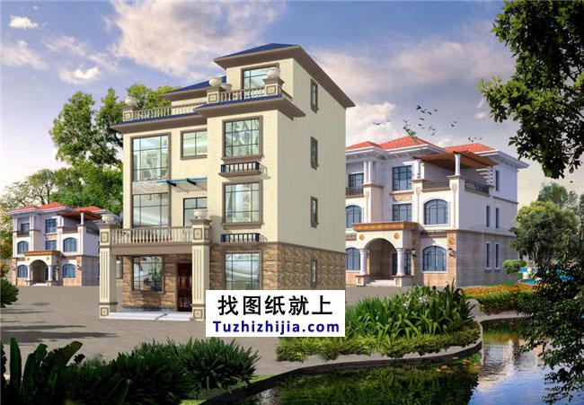 105平农村四层房屋复式设计图,设计合理石家庄模具设计v农村图片