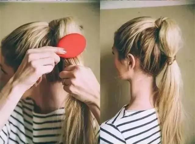 夏季如何把马尾扎得凉快又好看?最时髦的扎马尾技巧分享 美容护肤 图35