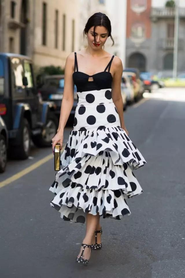 景甜和Angelababy不惜撞衫也要穿的波点衬衫到底有多时髦? 服饰潮流 图10