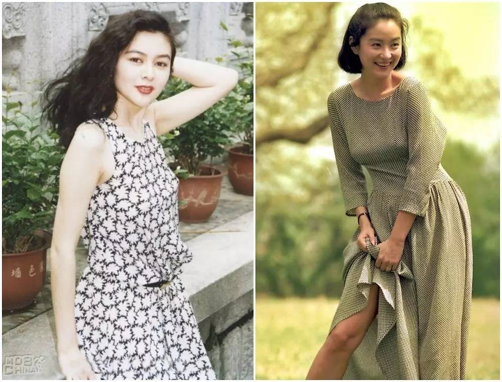 香港90年代女星穿着简洁大方又时髦,太美了! 风格偶像 图24