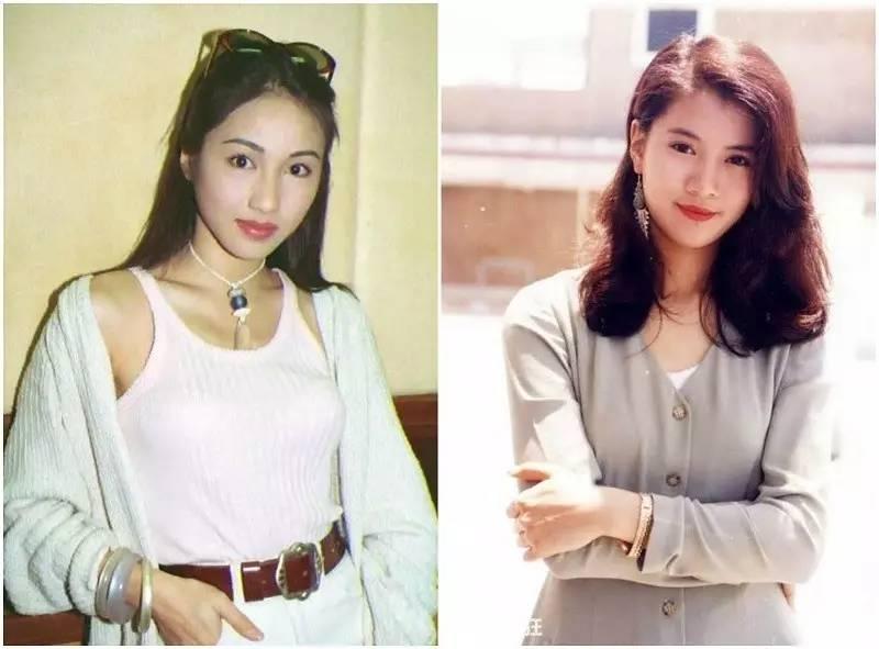 香港90年代女星穿着简洁大方又时髦,太美了! 风格偶像 图1