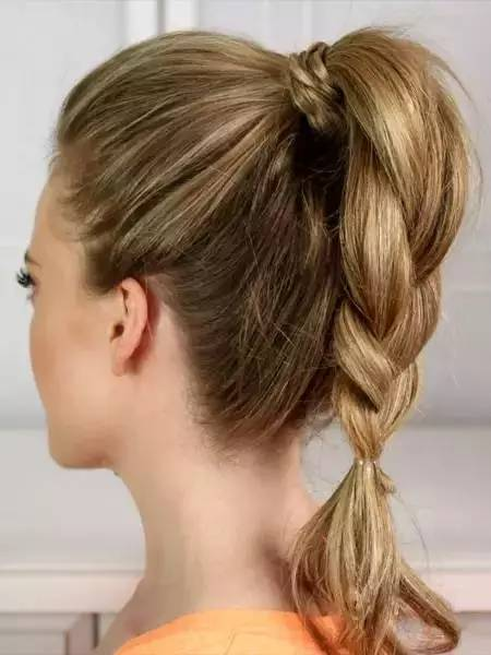 夏季如何把马尾扎得凉快又好看?最时髦的扎马尾技巧分享 美容护肤 图12