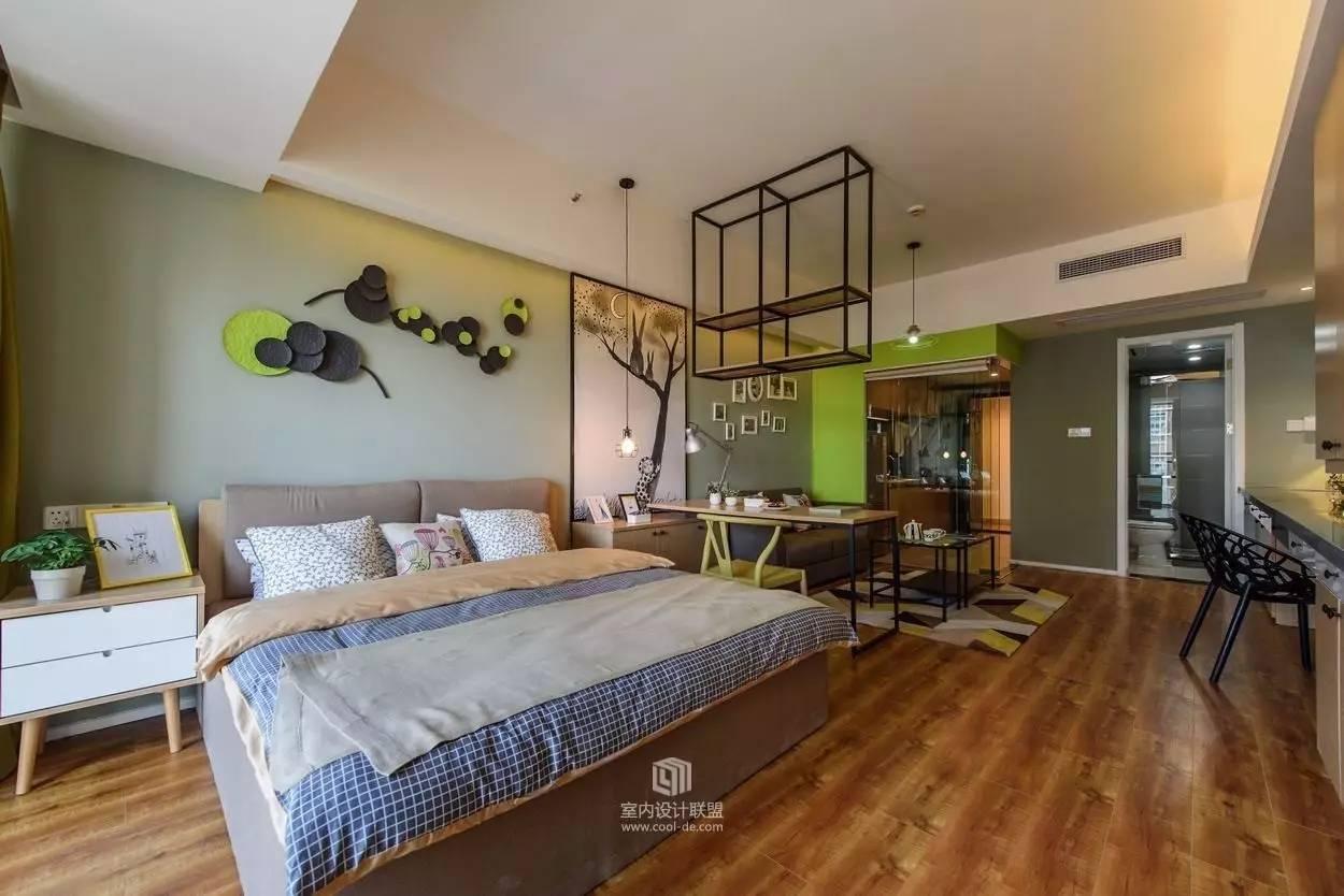 好看的34平精装单身公寓(二),温馨更有质感.