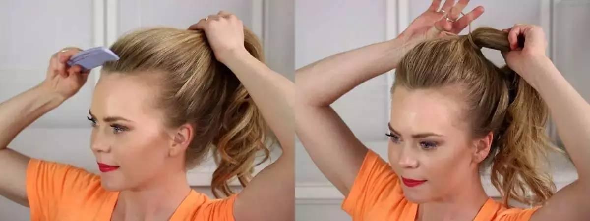 夏季如何把马尾扎得凉快又好看?最时髦的扎马尾技巧分享 美容护肤 图9