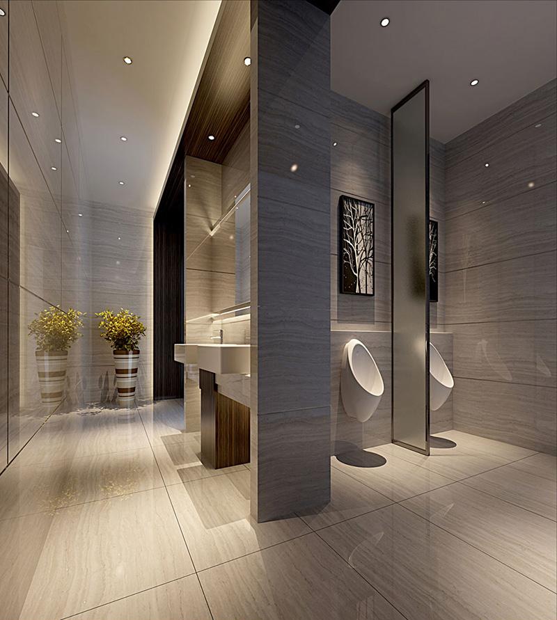 建业春天里四室两厅现代简约——卫生间装修效果图