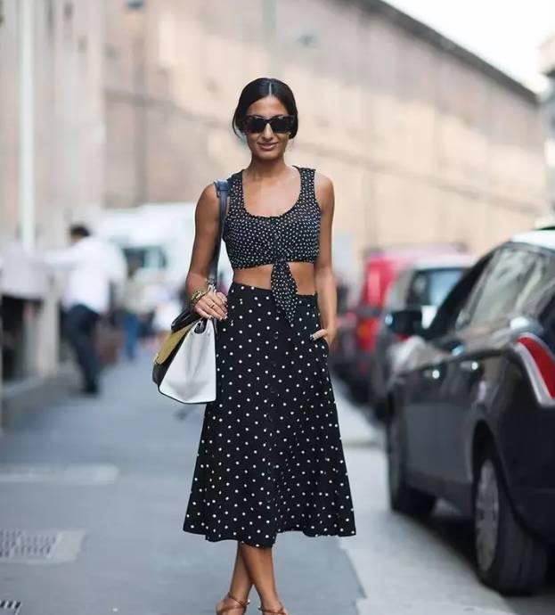 景甜和Angelababy不惜撞衫也要穿的波点衬衫到底有多时髦? 服饰潮流 图22