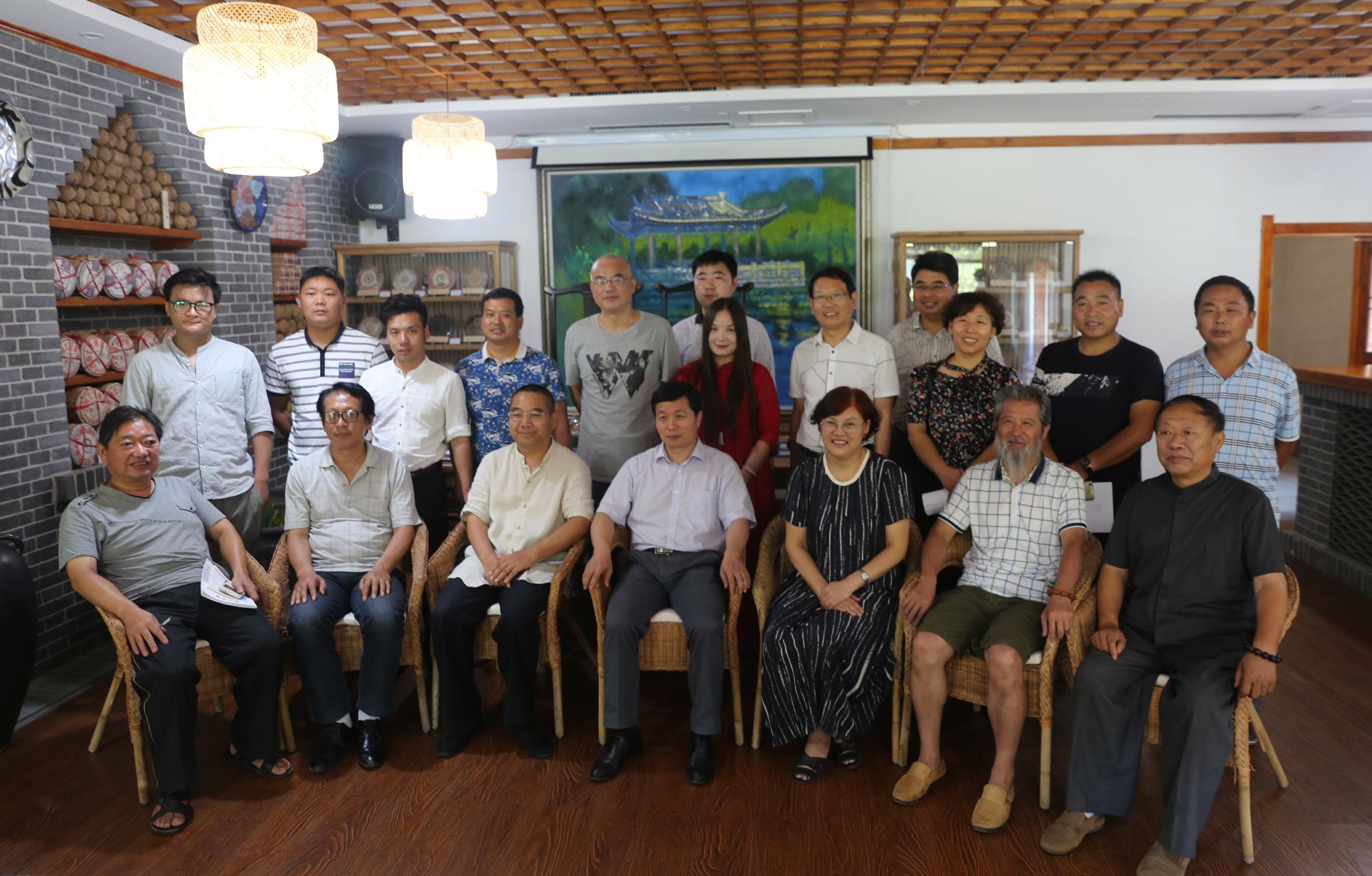 微电影《妈妈的木的》研讨会在淮阳莲舍举办