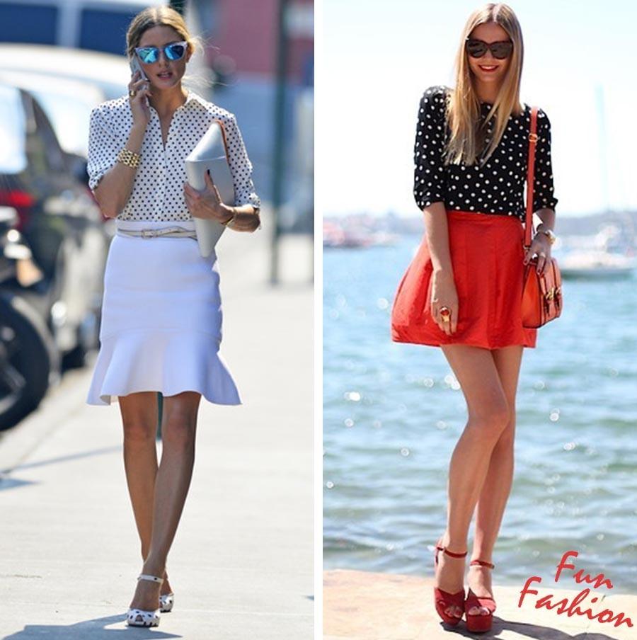 景甜和Angelababy不惜撞衫也要穿的波点衬衫到底有多时髦? 服饰潮流 图9