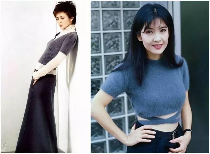 香港90年代女星穿着简洁大方又时髦,太美了! 风格偶像 图29