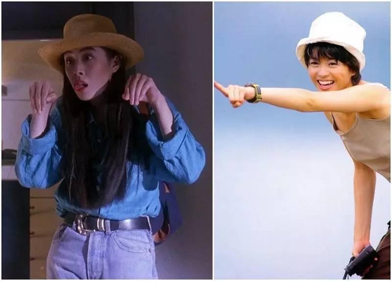 香港90年代女星穿着简洁大方又时髦,太美了! 风格偶像 图33