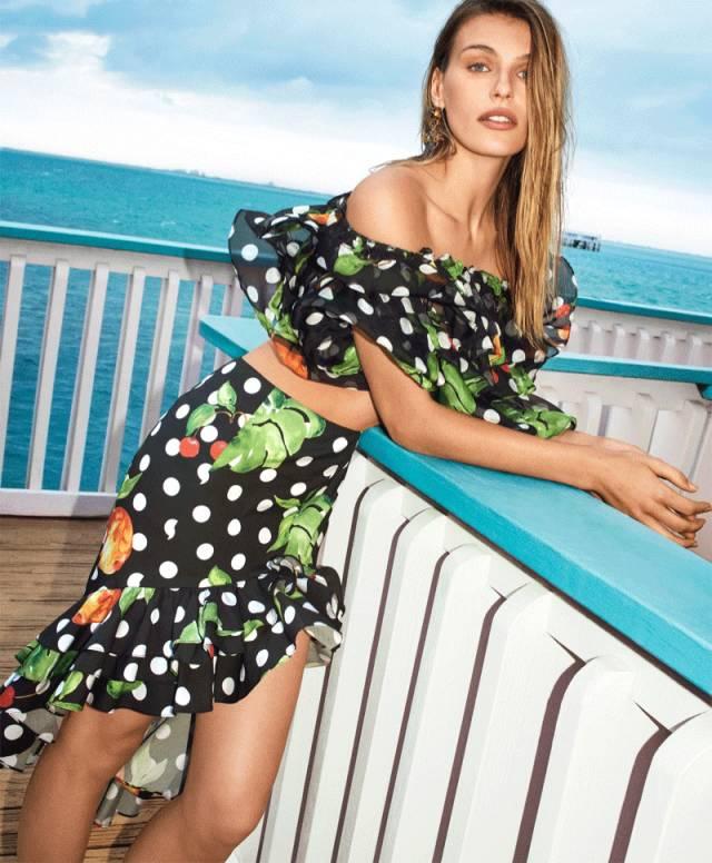 景甜和Angelababy不惜撞衫也要穿的波点衬衫到底有多时髦? 服饰潮流 图21