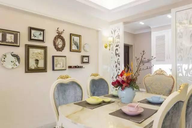 花20w装修的135平美式之家,餐厅的橱柜设计人见人爱!