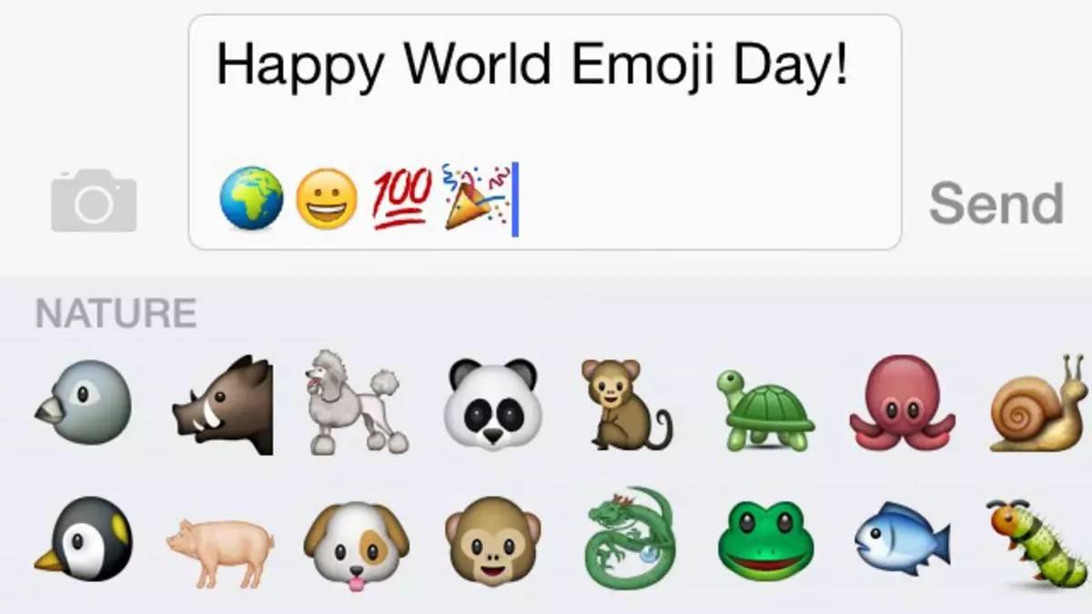 苹果新增56个emoji表情,为了庆祝世界emoji日这些表情图片