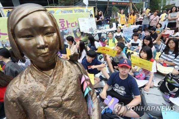 """韩国91岁""""慰安妇""""去世幸存者减至37人,外长将出席葬礼"""