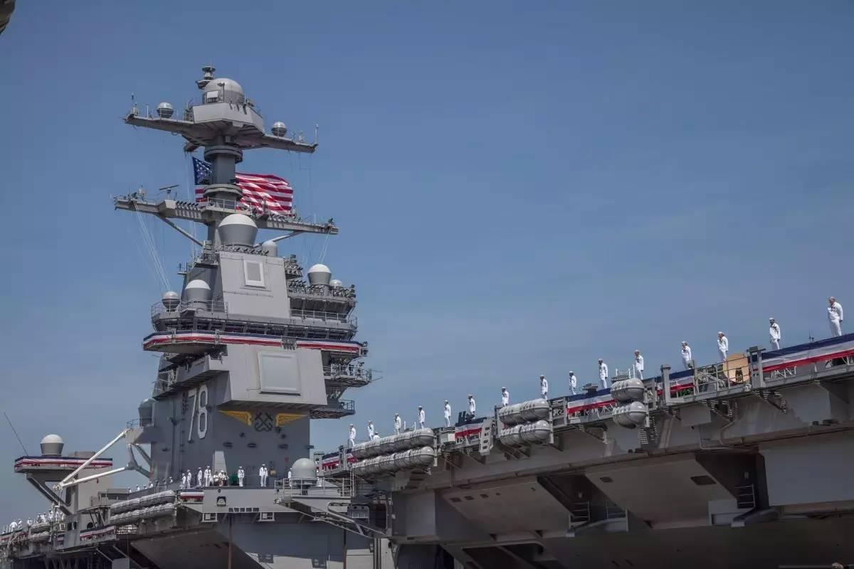 型核动力航母 福特 号服役 干掉 美国 的 福特 号航母 对于美海军具有图片