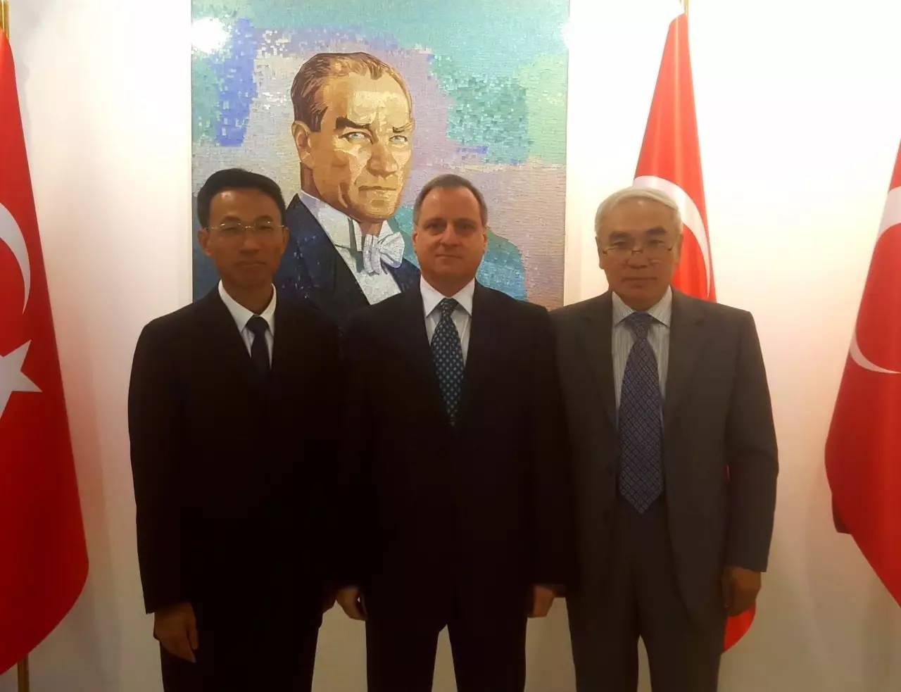中国政府叙利亚问题特使解晓岩访问土耳其