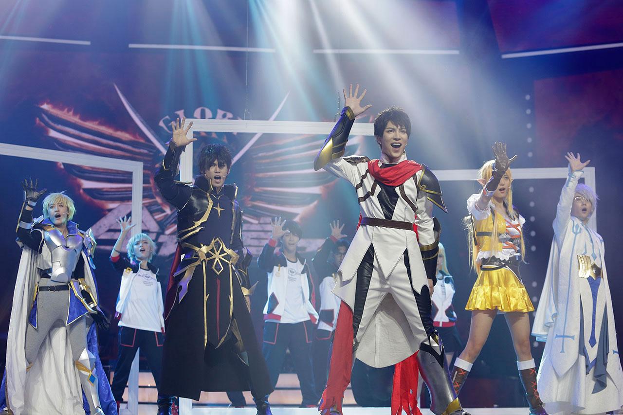 我爱二次元节目中杨帅跳的阴阳师那个歌叫什么
