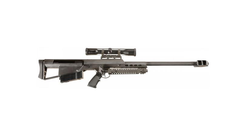 功能强大的巴雷特M95狙击步枪图片