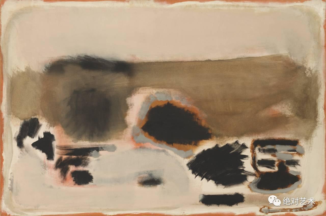 现代抽象主义画家-从不认为自己是抽象表现主义艺术家丨马克 罗斯科