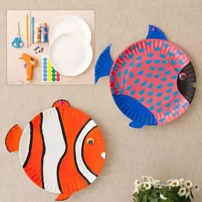 小纸盘大创意,10种方法教你玩转纸盘手工和吊饰!
