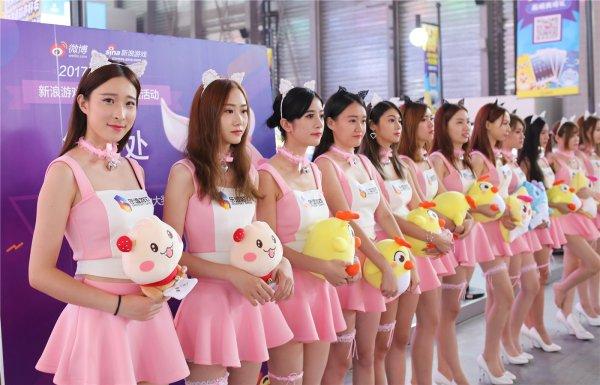 2017ChinaJoy首日Showgirl图赏:颜值就是正义
