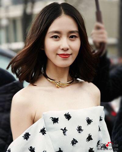 刘诗诗唐嫣郑爽郑合惠子 盘点娱乐圈的中长发美女