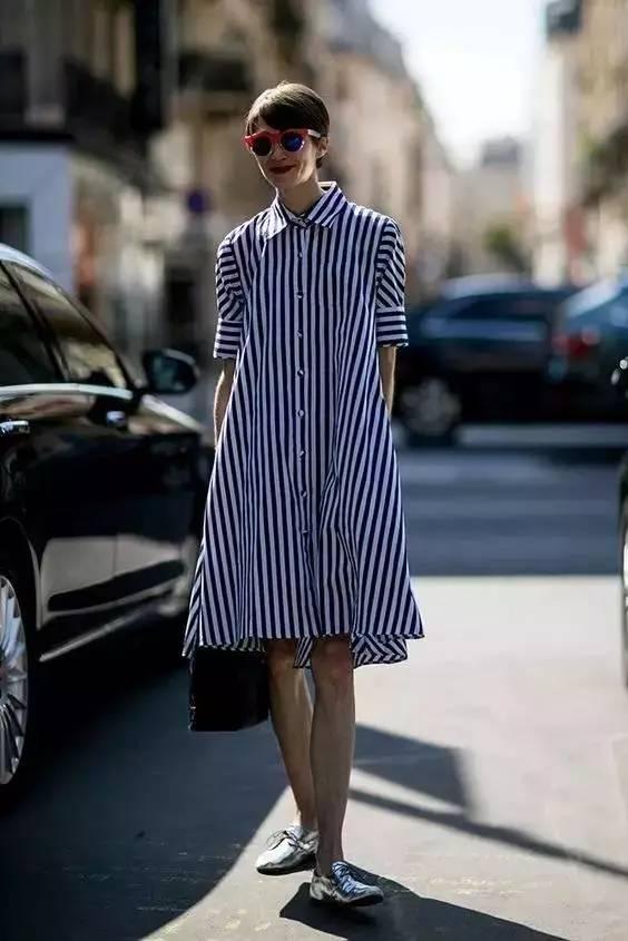 占领时尚圈半壁江山的 短袖衬衫 ,要怎么穿出时髦感
