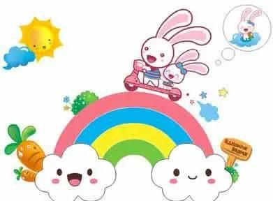 睡前故事 彩虹小仙子和小白兔