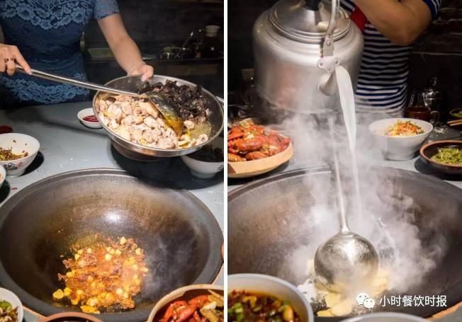 农村最原始的烧锅方法,每天中午砍好的木柴的需求量很大,噼里啪啦的图片