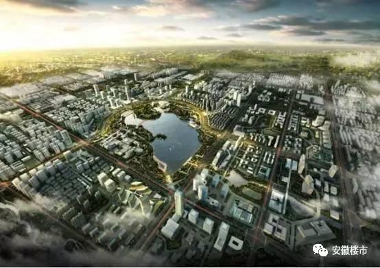 |合肥高新区规划图