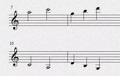 一定要背出来(低音谱号也一样)   升降记号弄错   加线容易看错   看谱