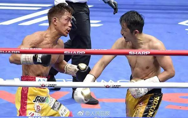 邹市明痛失金腰带 但他说,为中国拳击输了也值得图片