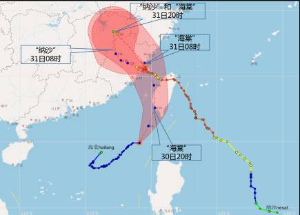 东莞塘厦今天最高温近40度 双台风来袭,未来几天天气是这样的