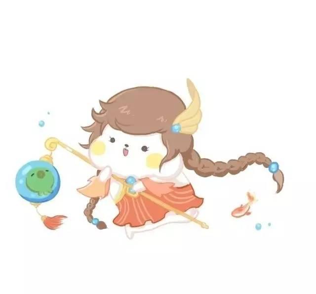 【欣赏】农药最萌的手绘q版头像,萌化了!欢迎抱走!