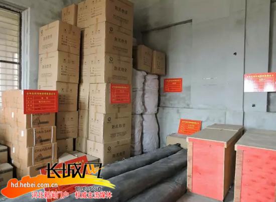 邯郸永年区加强防汛物资储备落实