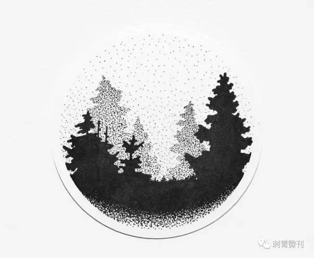 纹身~森林