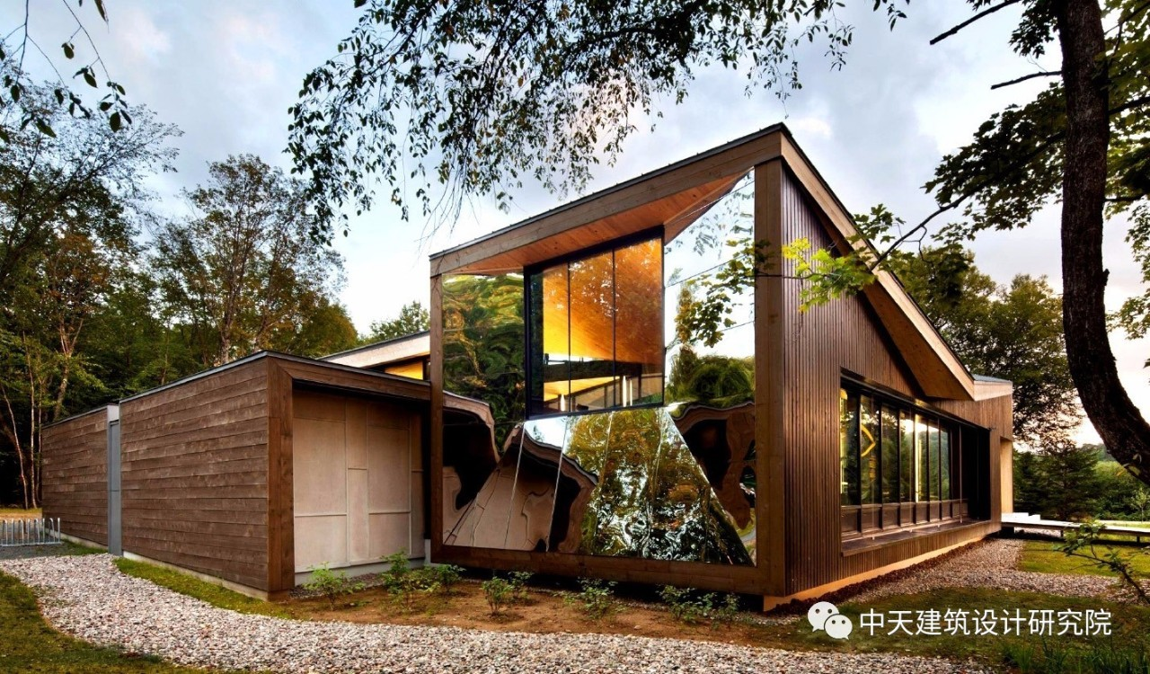当中国设计遇上加拿大现代木结构