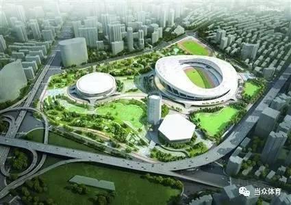 上海体育公园新增280万平方米!四大体育地标一