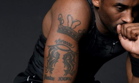 麦迪纹身霸气无比,科比纹身为了图片