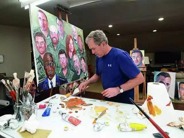美国总统特朗普的画家梦