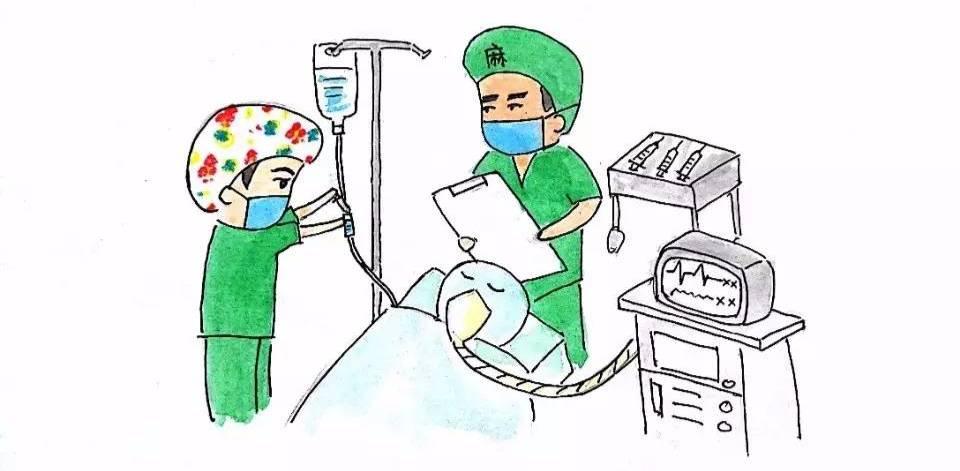 当您进入手术间后,手术室护士会跟您核实信息并做一系列的手术准备工图片