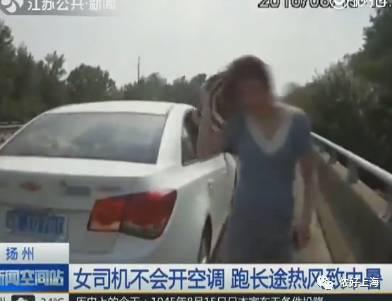 上海女司机热晕了头,一脚油门把车开进河里 奇葩囧事笑哭一批老司机