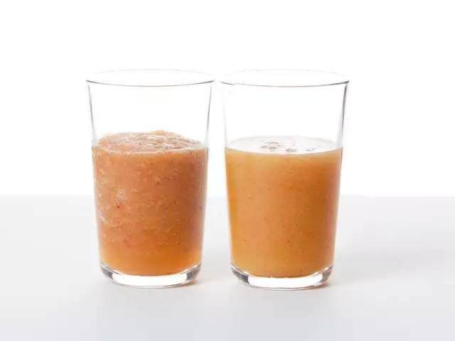 好物 喝过真空状态下打出来的果汁,觉得以前喝的都是假果汁