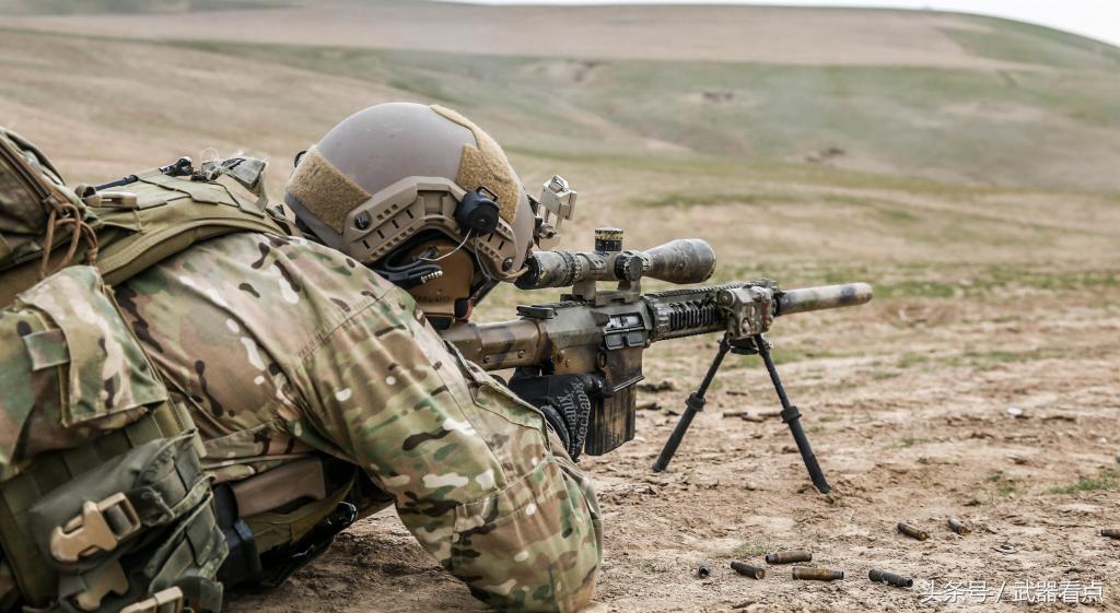 美国海豹突袭队员,为 什么都喜欢使用Mk.11狙击步