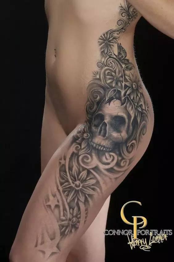 纹身师都有一双魔术师的手!