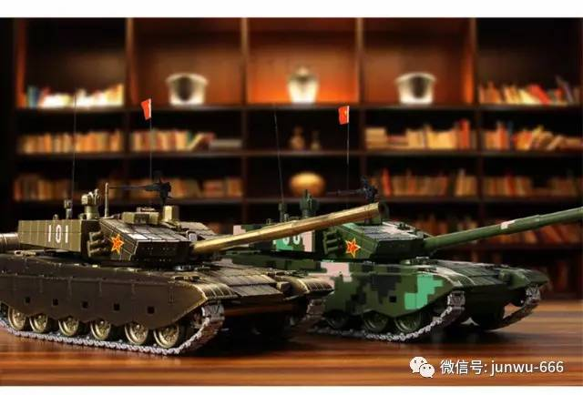 3,q版中国99a主战坦克模型