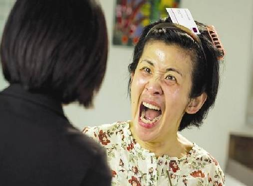 谢娜是她的 翻版 ,演了半辈子的丑女,竟然未婚同居了20年